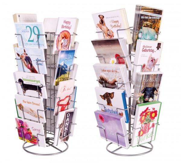 Tischkartenständer 'B' Doppelkarten und Postkarten